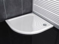 900mm x 900mm Stone Quadrant ShowerTray