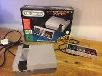 Nintendo Classic Mini NES with Extra Controller and long leads