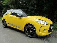 Citroen DS3 1.6 HDi 110 DSport 3dr (yellow) 2011