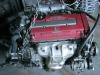 engine b16b civic typ r with transmission lsd 98