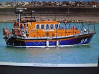 RC Boat 1/12 scale Mersey class life boat kit