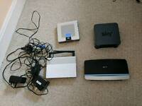 Wireless Routers x 4