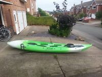 Sit-on Canoe (Kyac) 2 person. owned for several years however its had very little use