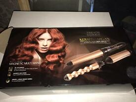 Trevor sorbie curling wand with assessories