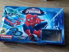 Spiderman ultimate racing track