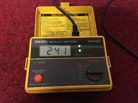 Electrical installation testers RCD, LOOP, PSC