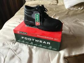 Click safety footwear -open to offers
