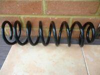 mercedes w211 series front coil spring for any model from year (2002 to 2006) in excellent condition