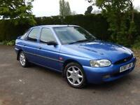 Ford Escort Finesse Blue 1.6ltr Low Mileage Ono