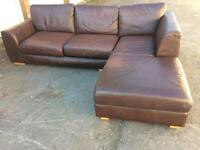 Marks and Spencer Tribeca real leather corner sofa was £2500