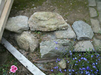 GRANITE TYPE ROCKS SUITABLE FOR ROCKERY