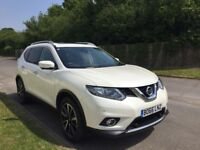 Nissan x-trail 66 plate in white low mileage