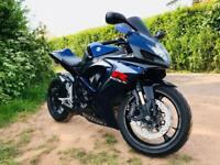 2007 Gsxr 750 K7 Isle of Man edition