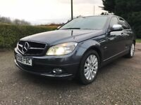 Mercedes c200 petrol sport compressor auto 2008 leather,navigation etc p-ex welcome,aa/rac welcome