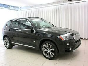 2016 BMW X3 28i x-DRIVE PREMIUM ENHANCED w/ NAVIGATION & HEADS