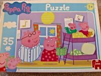 Peppa Pig George Daddy pig Mummy Pig 35 pieces Jumbo puzzle 3 years old +