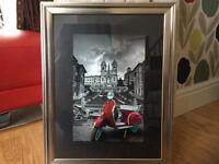 Vespa pictures in rome