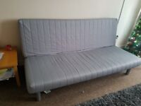 Sturdy Sofa with Bed with additional cover excellent condition cost £300