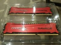 Hyper X Savage 16gb 2400Mhz DDR3 (2 x 8gb)