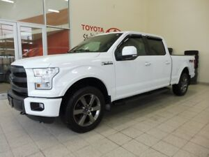 2015 Ford F-150 * LARIAT * CUIR * TOIT PANO * 5.0 L * GPS *