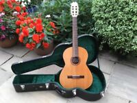 Acoustic guitar with hard shell case - Admira Almeria