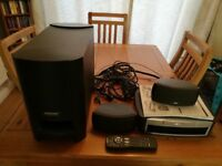 Bose 3-2-1 Home Cinema system - Complete with speakers & base subwoofer - Great Condition