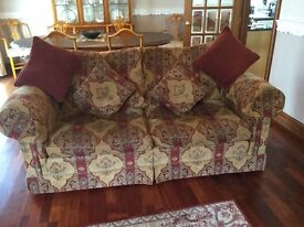 Duresta 2seater settee 3 Seater with 1 chair