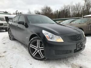 2007 Infiniti G35 Luxury AWD Navi  Backup Cam Leather Sunroof