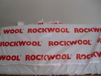 Rockwool flexi slab insulation 600 x 1200mm 60mm thick, full pack but opened