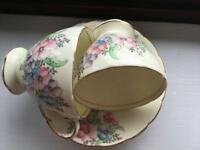 English bone china tea cup & saucers by Foley