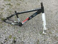 X-rated 'Mesh' Dirt / Jump Bike Frame and Forks