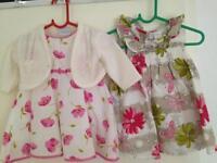 Girl dresses 0-3 month