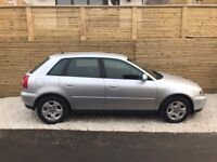 2002 AUDI A3 1.6 SE, 41,000 MILES FROM NEW,1 OWNER ,FULL AUDI SERVICE HISTORY