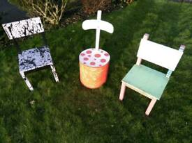 Children's fun chairs