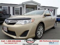 2012 Toyota Camry LE (A6) ONLLY $132.29 BI WEEKLY!!!