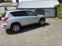 Silver Toyota Rav 4 in immaculate condition, full service history , 90,000 miles (low for age).