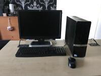 "Hp pro 3120 intel dual core 2.8 ghz 4gb ram 250gb hdd 19"" windows 10 refurbished full system"