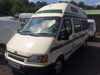 FORD TRANSIT 2.5 TD DUETTO AUTOSLEEPER 2 BERTH
