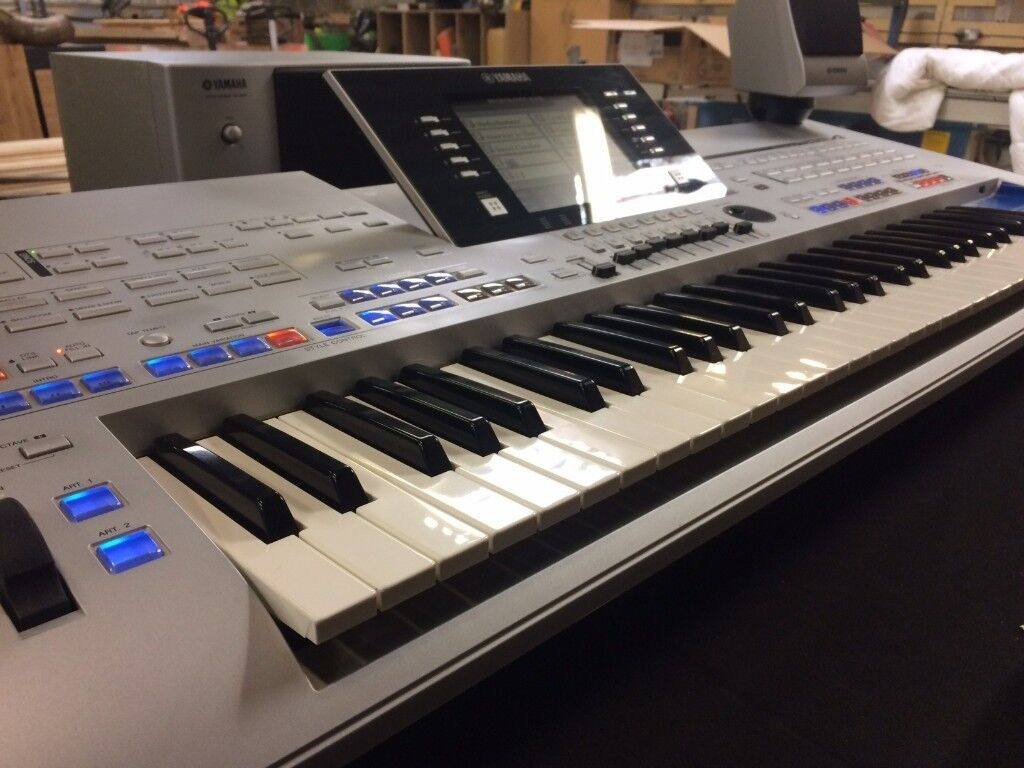 yamaha tyros 4 arranger workstation keyboard including trs. Black Bedroom Furniture Sets. Home Design Ideas