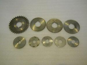 STRAIGHT TOOTH SIDE CHIP SAWS & SLITTING/SLOTTING SAWS (HSS)