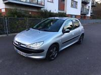 Peugeot 206 5 Door Hatchback 2004 Low Mileage 46k only