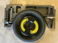 VW GOLF Mk7.5 GTD GTI R GT TSI SPARE WHEEL WITH COMPLETE JACKING TOOLS AND JACK TOW BARR