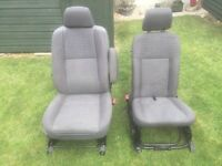 Ford Transit Connect LX Front Seats 2002-2012