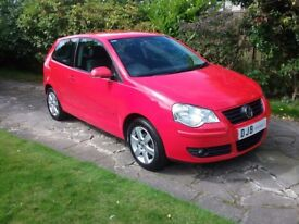 2009 POLO MATCH 44000 MILES FULL SERVICE HISTORY