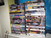 Lots of films on DVD`s £1 each