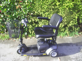 PRIDE GOGO ELITE TRAVELLER PLUS mobility scooter 23 stone user weight