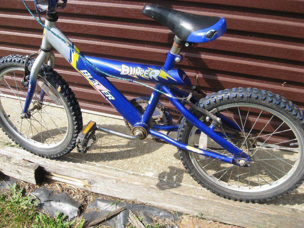 "Boy's Blazer Bumper Bicycle 18"" wheels"