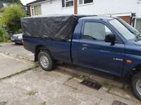 Mitsubishi l200 single cab with long mot £2000 FOR QUICK SALE