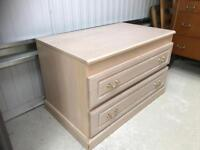 Low chest 2 drawers FREE DELIVERY PLYMOUTH AREA