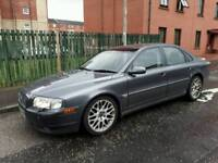 VOLVO S80 D5 SE AUTOMATIC 2.4 DIESEL MOT 1 YEAR GOOD CONDITION